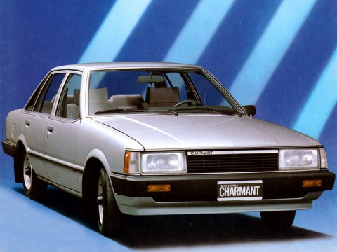 Technical specifications and characteristics for【Daihatsu Charmant (A)】