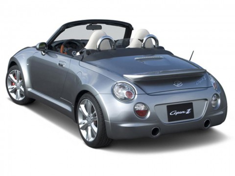 Technical specifications and characteristics for【Daihatsu Copen (L8)】