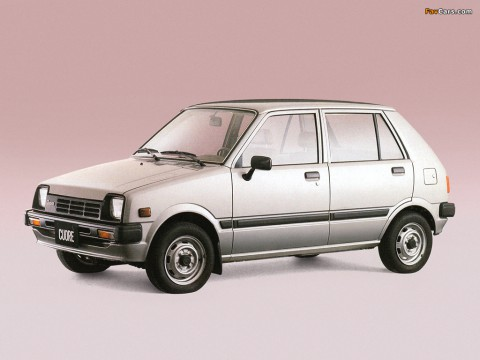Technical specifications and characteristics for【Daihatsu Cuore I (L55,L60)】