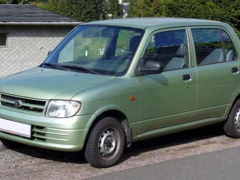 Technical specifications and characteristics for【Daihatsu Cuore II (L80,L81)】