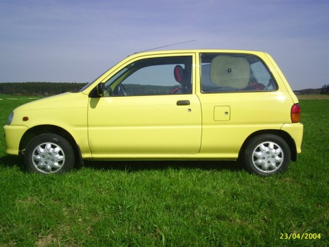 Technical specifications and characteristics for【Daihatsu Cuore IV (L501)】