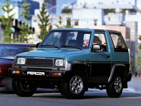 Technical specifications and characteristics for【Daihatsu Feroza Hard Top (F300)】