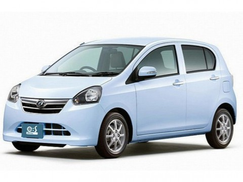 Technical specifications and characteristics for【Daihatsu Mira (GL800)】