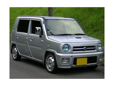 Technical specifications and characteristics for【Daihatsu Naked】
