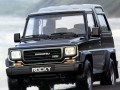 Technical specifications and characteristics for【Daihatsu Rocky Hard Top (F7,F8)】
