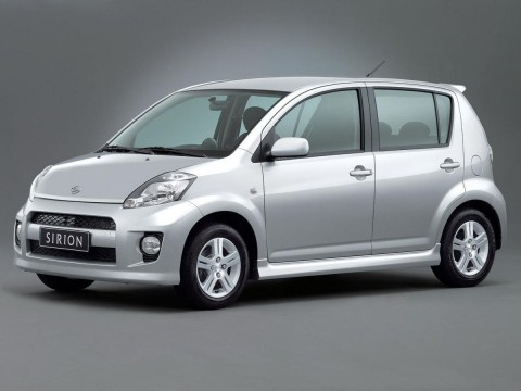 Technical specifications and characteristics for【Daihatsu Sirion (M2)】