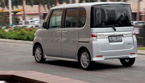 Technical specifications and characteristics for【Daihatsu Tanto】