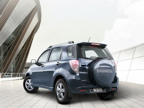 Technical specifications and characteristics for【Daihatsu Terios II Restyling】