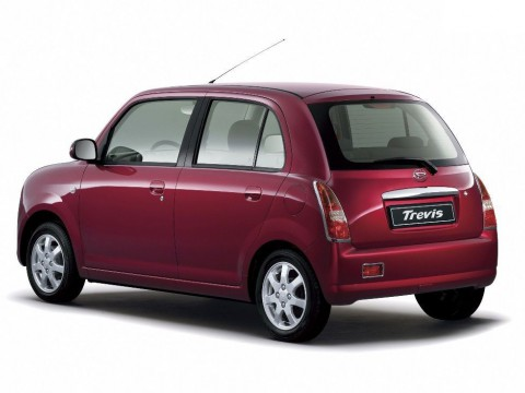 Technical specifications and characteristics for【Daihatsu Trevis】