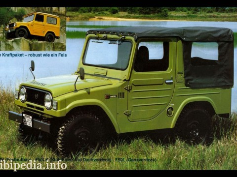 Technical specifications and characteristics for【Daihatsu Wildcat/rocky (F75)】