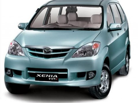 Technical specifications and characteristics for【Daihatsu Xenia】