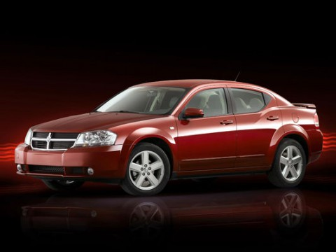 Technical specifications and characteristics for【Dodge Avenger sedan】