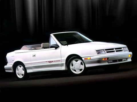 Technical specifications and characteristics for【Dodge Shadow Convertible】