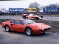 Technical specifications of the car and fuel economy of Ferrari 208/308