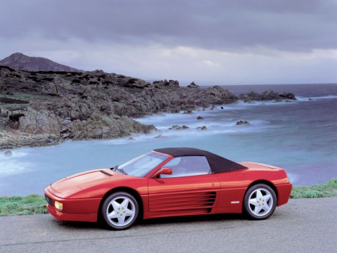Technical specifications and characteristics for【Ferrari 348 Spider】