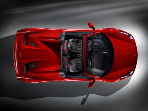 Technical specifications and characteristics for【Ferrari 458 Spider】