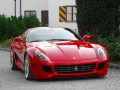 Technical specifications of the car and fuel economy of Ferrari 599