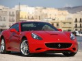 Technical specifications of the car and fuel economy of Ferrari California