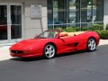 Technical specifications of the car and fuel economy of Ferrari F355
