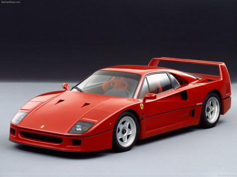 Technical specifications and characteristics for【Ferrari F40】