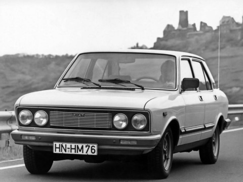 Technical specifications and characteristics for【Fiat 132】
