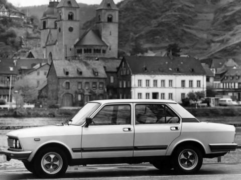 Caractéristiques techniques de Fiat 132