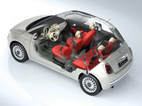 Technical specifications and characteristics for【Fiat New 500】