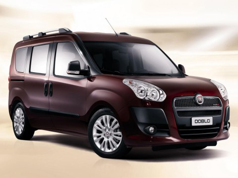 Technical specifications and characteristics for【Fiat Doblo II】