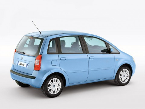 Technical specifications and characteristics for【Fiat Idea】