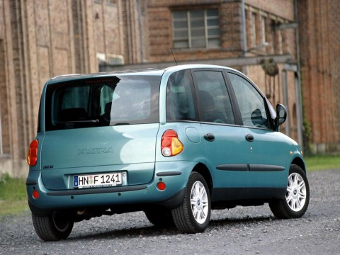 Technical specifications and characteristics for【Fiat Multipla (186)】