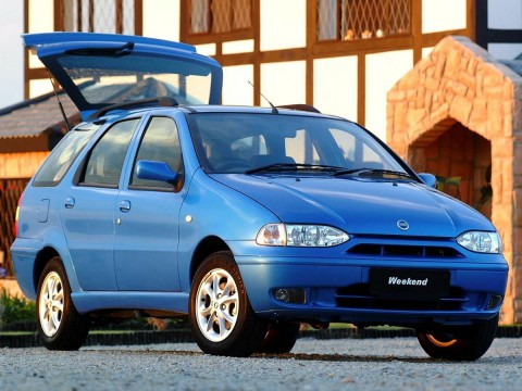 Technical specifications and characteristics for【Fiat Palio Weekend (178)】