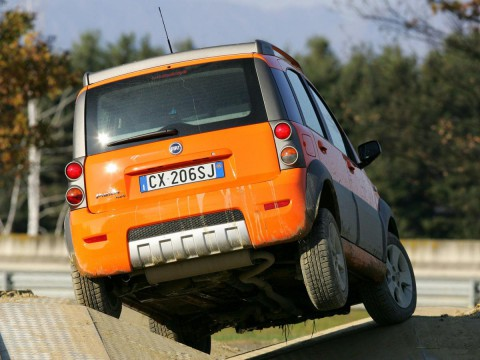 Technical specifications and characteristics for【Fiat Panda 4x4】