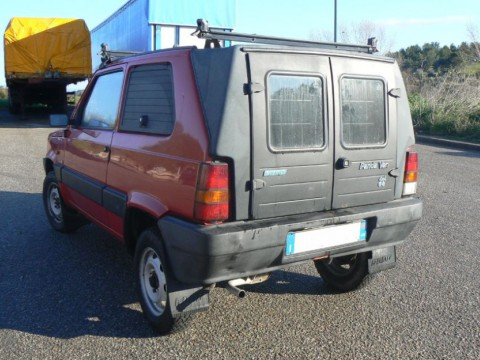 Technical specifications and characteristics for【Fiat Panda Van】