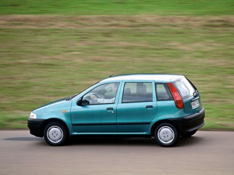 Technical specifications and characteristics for【Fiat Punto I (176)】