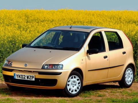 Technical specifications and characteristics for【Fiat Punto II (188)】