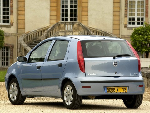 Technical specifications and characteristics for【Fiat Punto II Restyling】