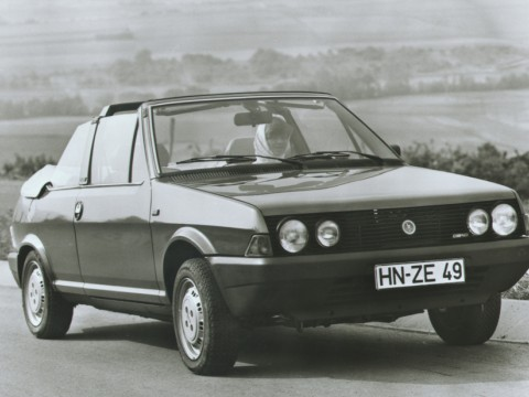 Technical specifications and characteristics for【Fiat Ritmo Bertone Cabrio】