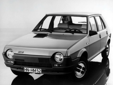 Technical specifications and characteristics for【Fiat Ritmo I (138A)】