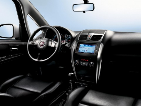 Technical specifications and characteristics for【Fiat Sedici 2009 (facelift)】