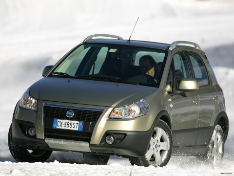 Technical specifications and characteristics for【Fiat Sedici】