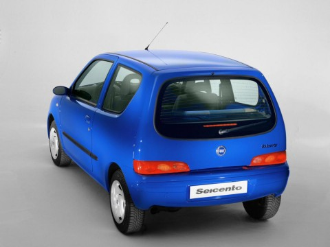 Technical specifications and characteristics for【Fiat Seicento (187)】