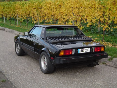 Technical specifications and characteristics for【Fiat X 1/9 (128 AS)】