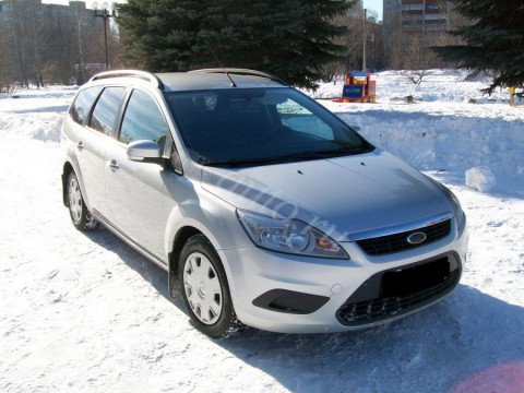 Technical specifications and characteristics for【Ford Focus Turnier II】