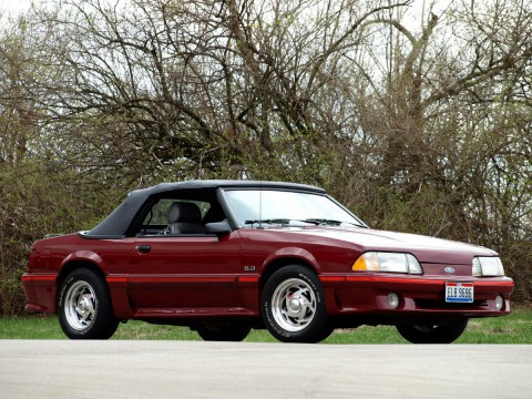 Technical specifications and characteristics for【Ford Mustang Convertible III】