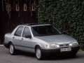Technical specifications of the car and fuel economy of Ford Sierra