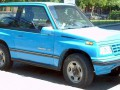 Technical specifications of the car and fuel economy of Geo Tracker