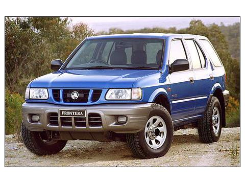 Technical specifications and characteristics for【Holden Frontera (4-type)】
