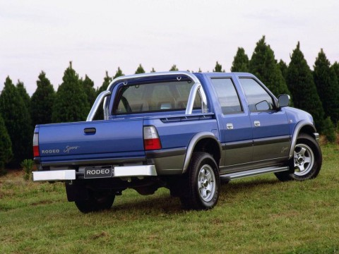 Technical specifications and characteristics for【Holden Rodeo】