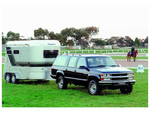 Technical specifications and characteristics for【Holden Suburban (8KL35)】