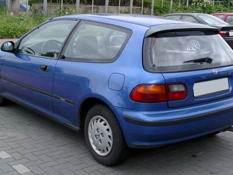 Caratteristiche tecniche di Honda Civic V